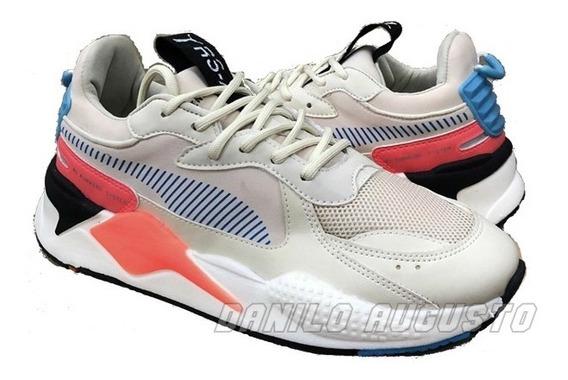 Tênis Puma Rs-x Creme Colors Importado Frete Grátis Promoção