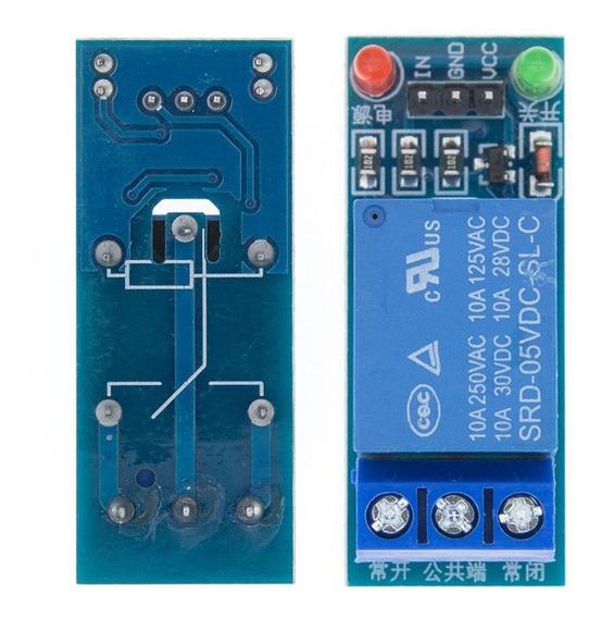 Módulo Rele 1 Canal 5v 10a Arduino Pic Raspberry Automação