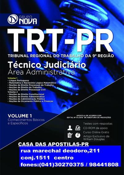 Apostila Trt-pr Ed.2015