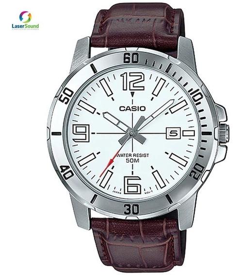 Relógio Casio Masculino Mtp-vd01l-7bvudf C/ Garantia E Nf