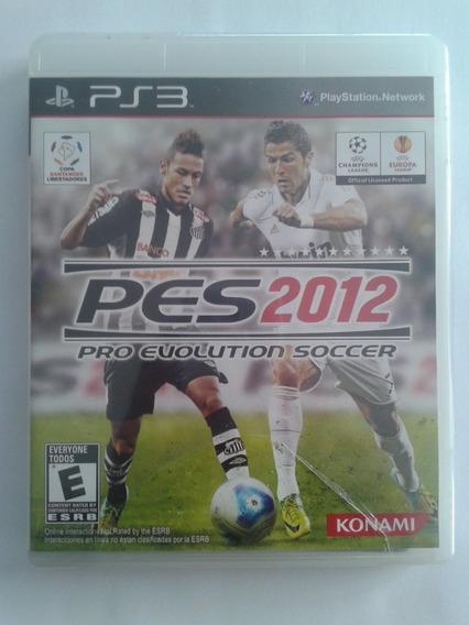 Pro Evolution Soccer 2012 - Ps3 - Novo - Lacrado