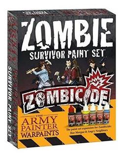 Set Pinturas The Army Painter Zombicide Survivor Paint Set