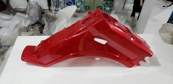 Paralama Traseiro Traxx New Star 50cc Vermelho Original