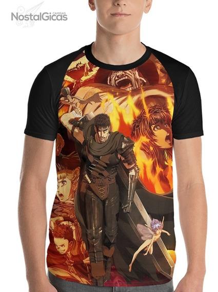 Camisa Raglan Berserk