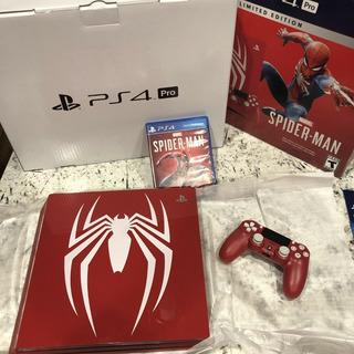 Sony Playstation 4 Pro Spider-man 1tb (edición Limitada)