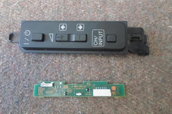 Teclado De Funções E Sensor Tv Sony Kdl-48r555c 1-894-182-31