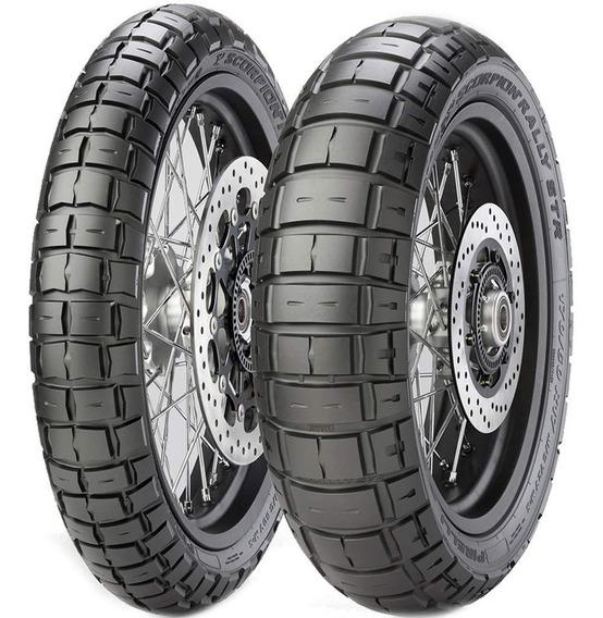 Par Pneu 150/70r17 + 110/80r19 Scorpion Rally Str Pirelli