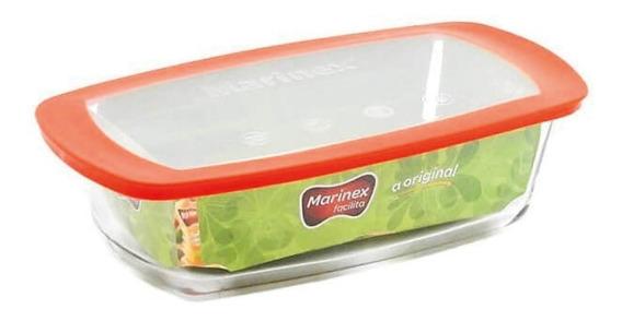 Budinera Marinex Facilita 1.5 L Vidrio Reforzado Con Tapa