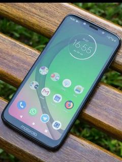 Celular Moto G7 Play Não Tem Nenhuma Marca De Uso.