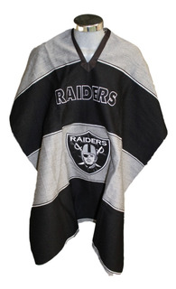 Jorongo Raiders Nfl Mexicano Artesanal Bordado