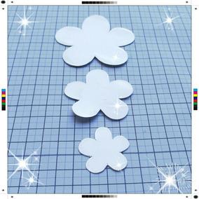 Molde Aluminio Para Cortar Feltro Fita Flor Lembrancinha