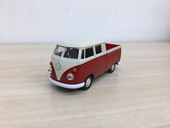 Miniatura Volkswagen Kombi Pick-up Vermelha 1969