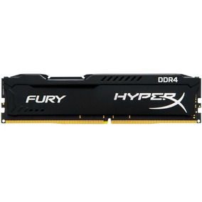 Memória Kingston Hyperx Fury 4gb 2400mhz Ddr4 Black Cl15