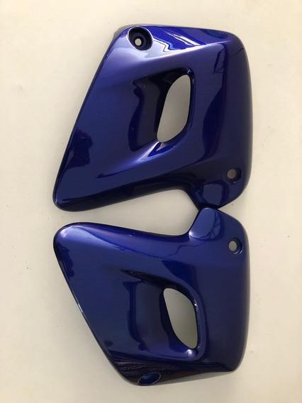 Par Aba Do Tanque Honda Cb500 Azul 1997 A 2005 Original !!!
