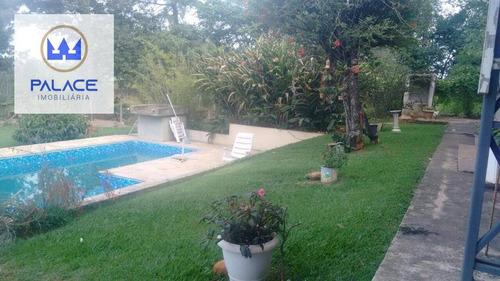 Chácara À Venda, 1700 M² Por R$ 600.000,00 - Residencial Paineiras - Piracicaba/sp - Ch0047