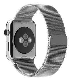Pulseira Milanese Para Apple Watch 42mm - Prata