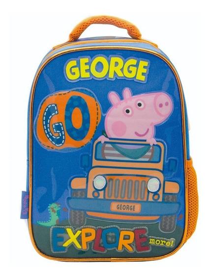 Mochila Peppa Pig George Espalda 12 Pulgadas Jardin Pp041