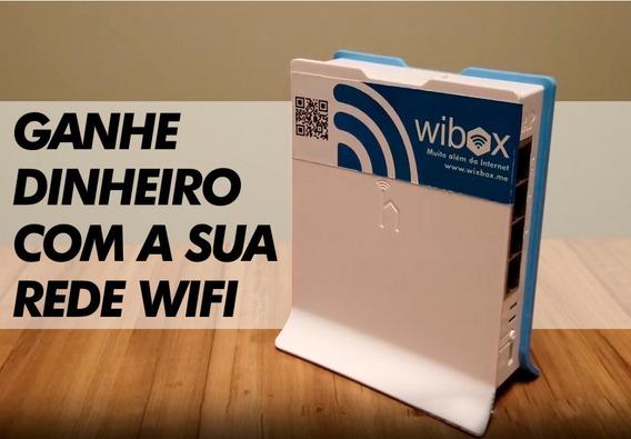 Wibox Roteador Wifi Ganhe Dinheiro Compartinhando Seu Wifi