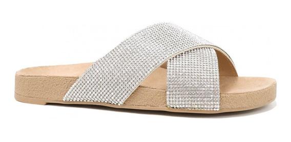 Rasteira Zariff Shoes Birken Strass108011