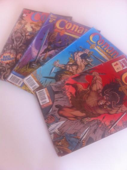 Conan O Aventureiro | Gibis\coleção: 1,2,3,5 | 1995 - 1996