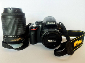 Nikon D5100 Com 18-55mm E 55-200