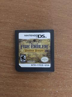 Fire Emblem Shadow Dragon Ds Nintendo Sin Caja