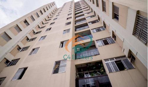 Apartamento À Venda, 92 M² Por R$ 479.000,00 - Vila Augusta - Guarulhos/sp - Ap1499