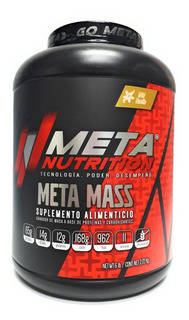 Meta Mass 6 Lbs Meta Nutrition Varios Sabores Envío Full