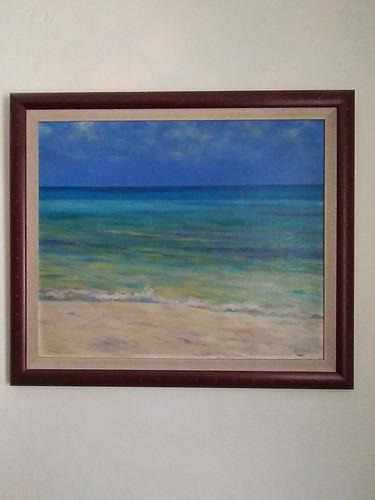 Cuadro Al Oleo (pintor Reconocido)