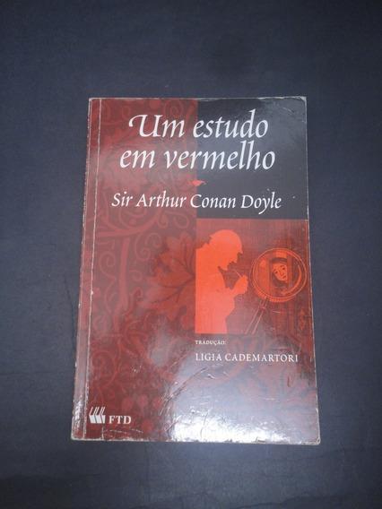 Livro Um Estudo Em Vermelho