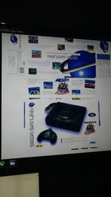 Arte Caixa Sega Saturn