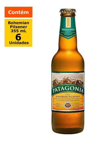 Cerveja Patagonia Bohemian Pilsener Long Neck 355ml - Caixa