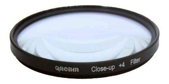 Filtro De Lente Greika Close Up +4 Para Lente Objetiva 77mm