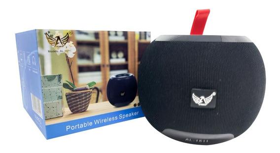 Caixa Som Portátil Bluetooth Fm Mp3 Sem Fio Bass P2 Usb Aux