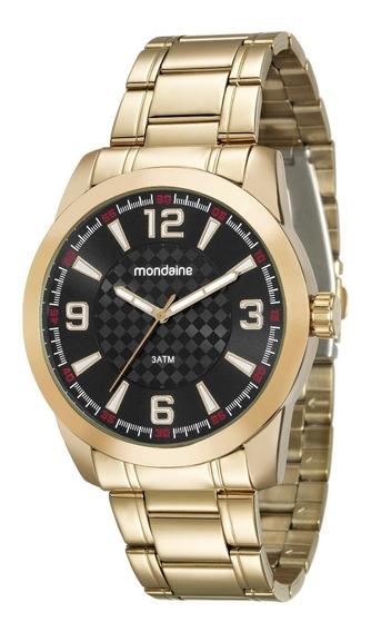 Relógio Mondaine Análogo 46mm Pulseira Aço 99131gpmvde3