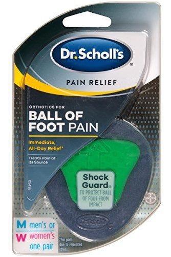 Scholl S Ortopedia Para Balón De Dolor De Pies 1par