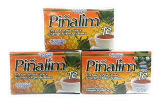 Piñalim Te Original 30 Sobres Original 3 Cajas