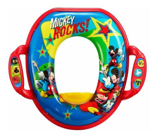O Assento Penico Mickey Soft Dos Primeiros Anos