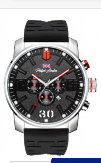 Relógio Philiph London Masculino Quartz Ref.: Pl80198629m Pr