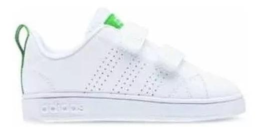 Tenis adidas Vs Adventage Clean Blancos Niño 2671963 And.dep