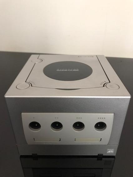 Game Cube Console Com Fonte E Controle! Funcionando 100%