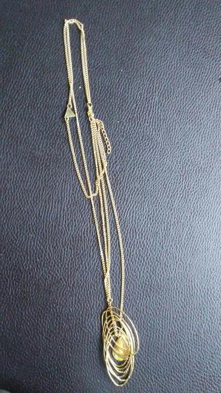 Collar Y Pulseras Dama Dorado Accesorios Para Mujer