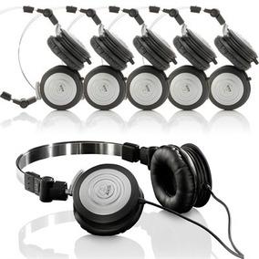 Kit 6 Fones De Ouvido Profissional Akg K414p Mini Headphone