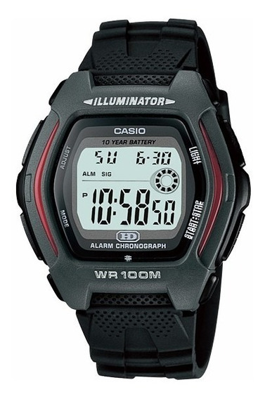 Relógio Casio Hdd-600 1a Hora Dual Alarme Cronometro 100m P