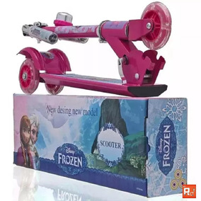 Patinete Infantil Frozen 3 Rodas