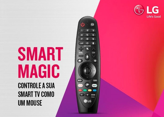 Controle Remoto Smart Magic An-mr18ba Thinq Ai - Original Lg