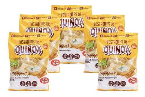 Tostaditas De Quinoa Yin Yang X 120g S/tacc Combo X 5un