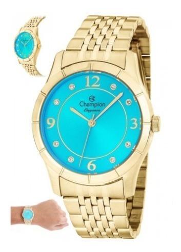Relógio Champion Feminino Elegance Cn25323f -23