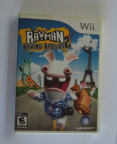Rayman Raving Rabbids 2 Para Wii Jogo Original Completo