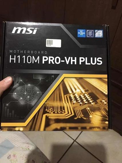 Placa Mae H110m Pro-vh Plus Msi